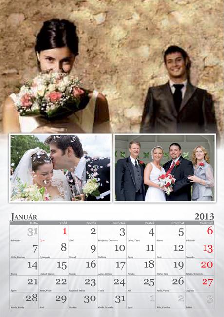 naptár saját fotóval Egyedi falinaptár típusok | naptár készítés | naptár rendelés  naptár saját fotóval